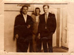 Отец Рекуты Александра с друзьми