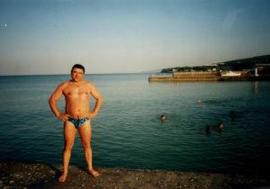 Рекута Александр на Черном море