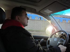 Рекута Александр за рулём